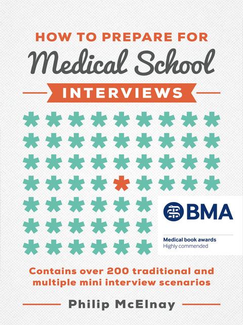 how-to-prepare-for-medical-school-interviews-philip-mcelnay-book