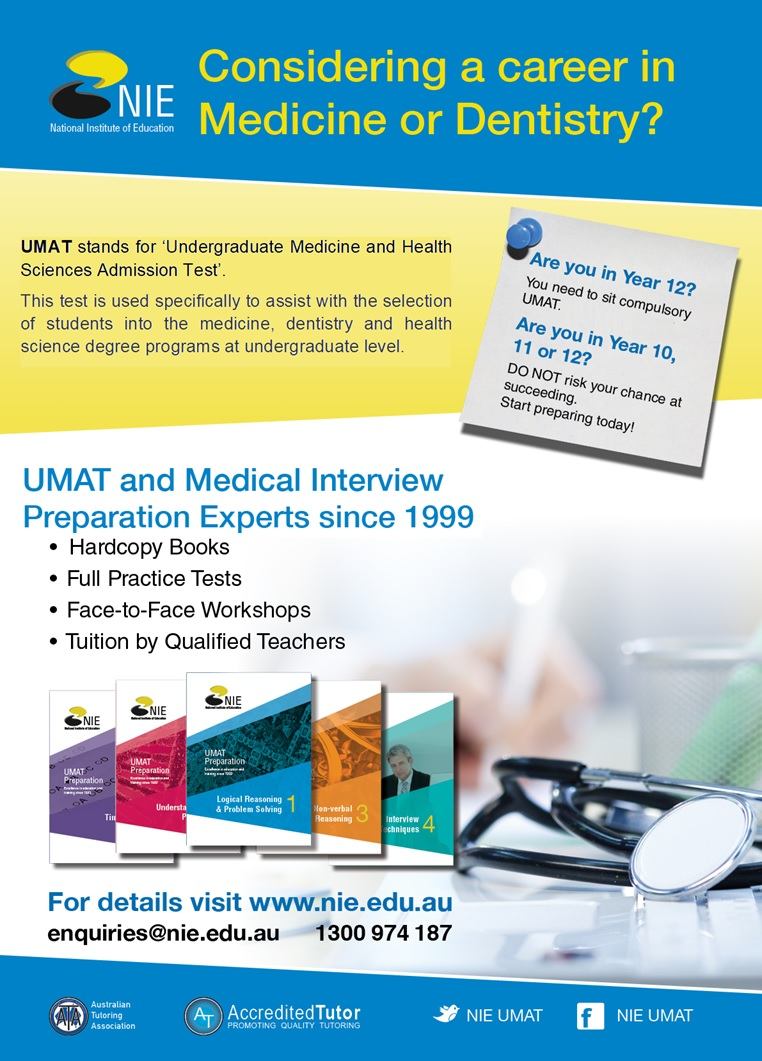 umat 2019 preparation courses