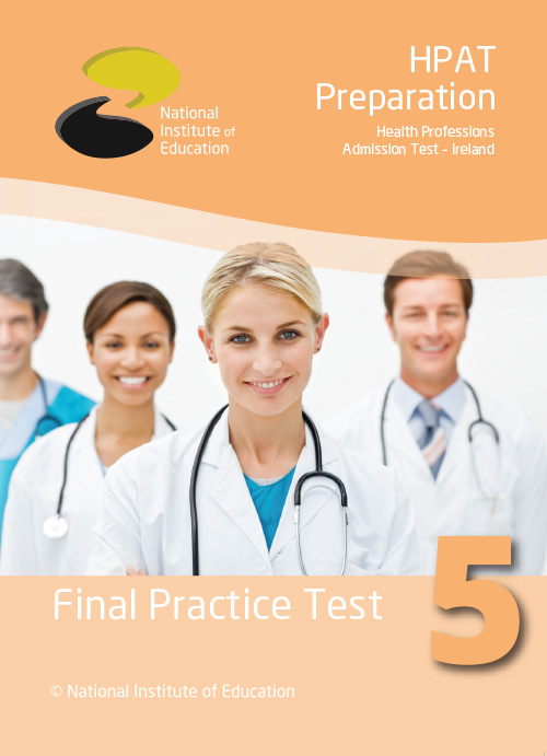 Book 5 : HPAT 2018 Final Practice Test